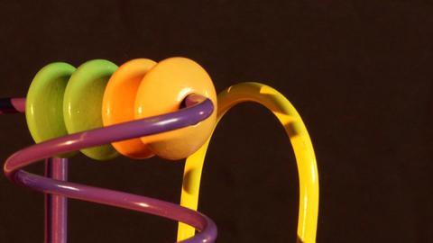 Toy Rotation Loop stock footage