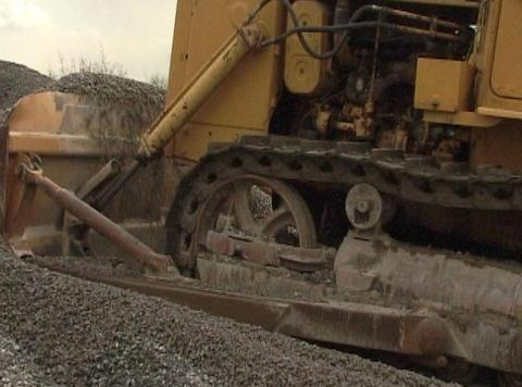 catterpillar tractor Footage