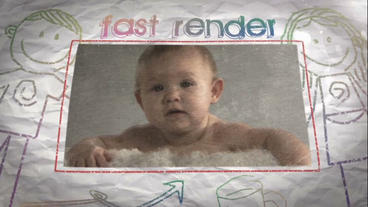 Kids Memories Slideshow After Effects Template