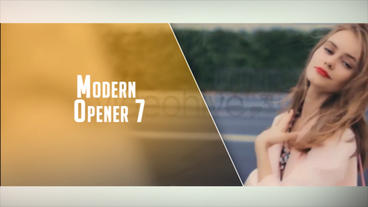 Modern Opener 7 After Effects Template