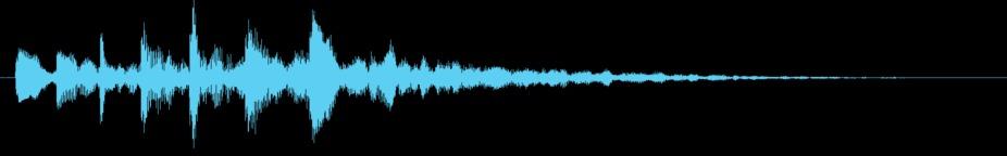 Soft Gentle Message Alert Notification OS Operation Start - End Sound 334 stock footage