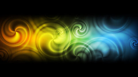 Abstract colorful swirl video animation Animation