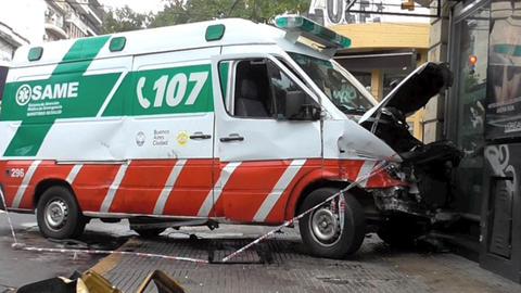 Ambulance Accident Live Action