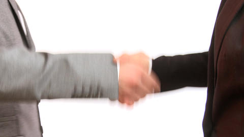 Handshake Stock Video Footage