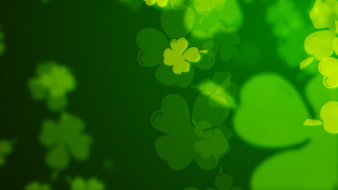 Loopable clover background Animation