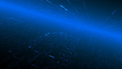 Technology Background, loop Animation