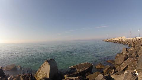 sea stones Footage