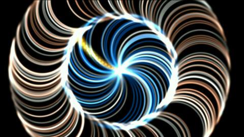 rotation fiber optic launch rays light,laser weapon,radar... Stock Video Footage