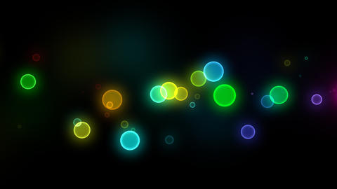 Neon LED Dot10 Ea1b HD Stock Video Footage