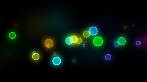 Neon LED Dot10 Ea1b HD Stock Video Footage