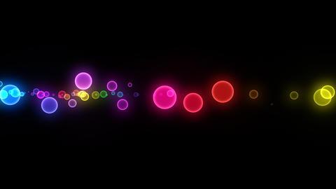 Neon LED Dot10 Ea3 HD Stock Video Footage