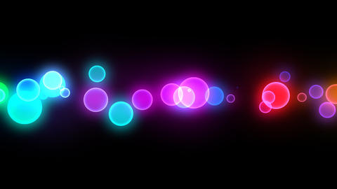 Neon LED Dot10 Ea4b HD Stock Video Footage