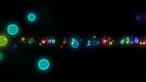 Neon LED Dot10 Ea6 HD Stock Video Footage