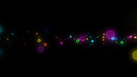 Neon LED Dot10 Ea6 HD Stock Video Footage