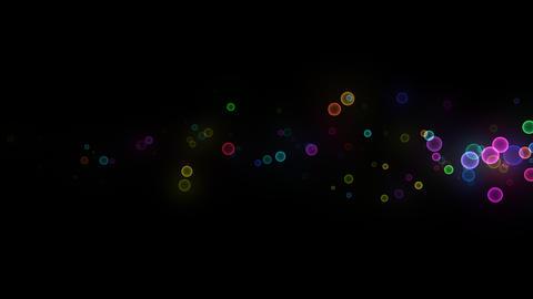 Neon LED Dot10 Eb2b HD Stock Video Footage