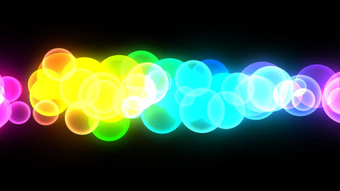 Neon LED Dot10 Eb4a HD Stock Video Footage