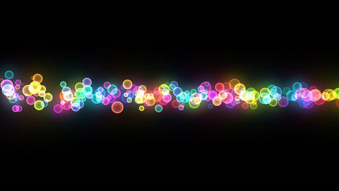 Neon LED Dot10 Eb5a HD Stock Video Footage