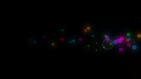 Neon LED Dot10 Eb6 HD Stock Video Footage