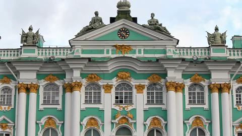 Middle Of The Hermitage Museum stock footage