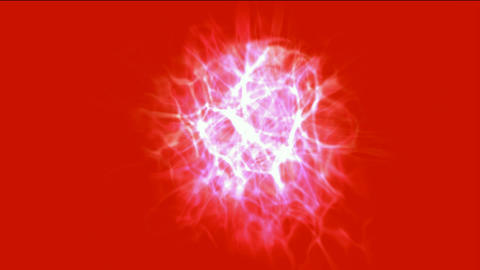 lightning magnetic field & energy fibre optic Animation