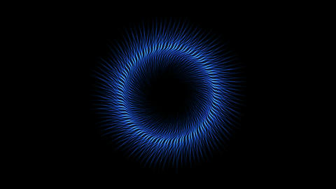swirl fiber lines shaped hole tunnel,dazzling energy field Animation