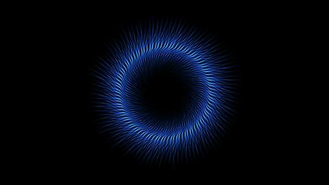 swirl fiber lines shaped hole tunnel,dazzling energy field Animation