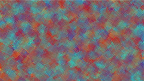 watercolor square papers & mosaic debris noise background Animation