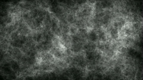 Smoky Clouds in darkness ghost space,noise background Stock Video Footage