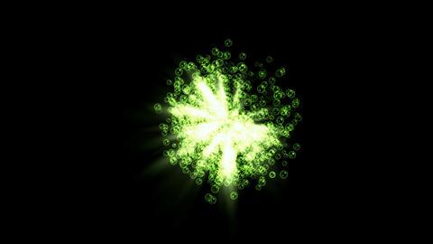 fliker soap bubble & waterdrop underwater,rays light... Stock Video Footage
