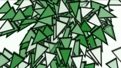 triangles card mosaics explosion falling,abstract math... Stock Video Footage