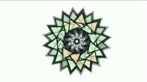 buddhism lotus mandala,retro flower pattern,oriental... Stock Video Footage