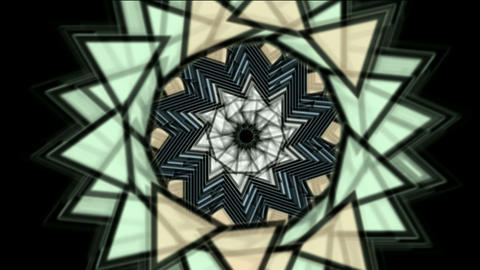 buddhism lotus mandala,retro flower pattern,oriental... Stock Video Footage
