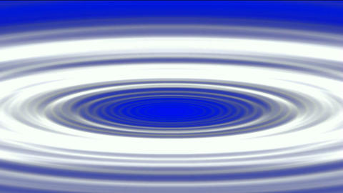 ripple in pond,swirl gray oval & round shaped hole Stock Video Footage
