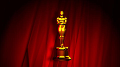 Oscar red carpet Animation
