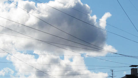 Cloud, Time Lapse Stock Video Footage