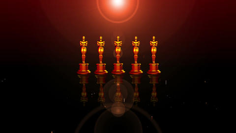 Oscar red carpet Stock Video Footage