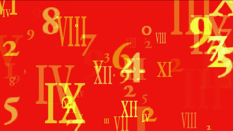 abstract computer business number and alphabet matrix,finance market display Animation