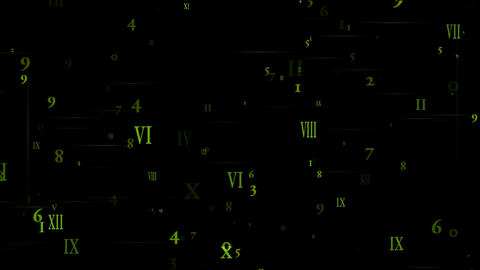 higher mathematics and calculus,number and alphabet... Stock Video Footage