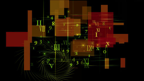 higher mathematics and calculus,number and alphabet matrix in square wire background,finance market Animation