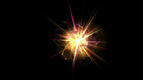 modern tech field,galaxy explosion launch rays light and... Stock Video Footage