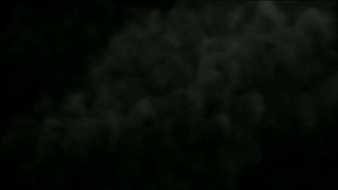 Nuclear explosion smoke and cloud in darkness,military... Stock Video Footage