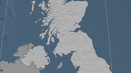 Glasgow (United Kingdom). Bumps Animation