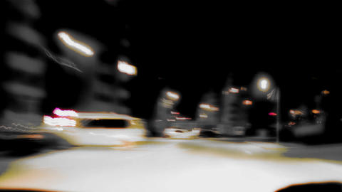 Inverted Drive Timelapse stock footage