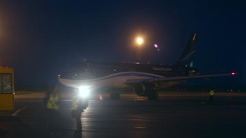 Plane Spotting stock footage