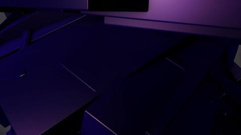 purple edge motion Animation