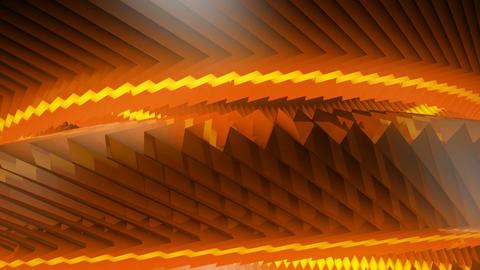 orange rotating gears Animation