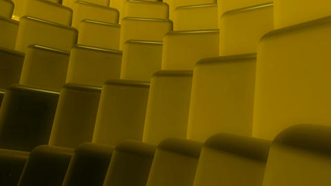 yellow cubes flowing Animation
