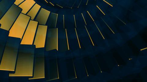 edge array spin Animation