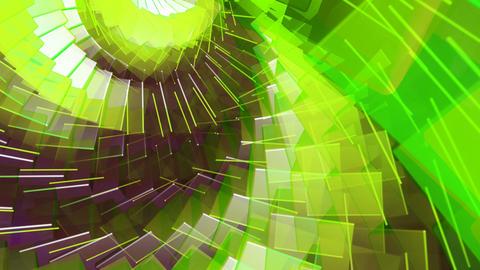 rotating cubes array Animation