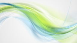 Blue green smooth flowing waves video animation Animation